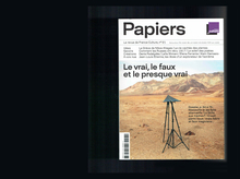 <cite>Papiers</cite> magazine