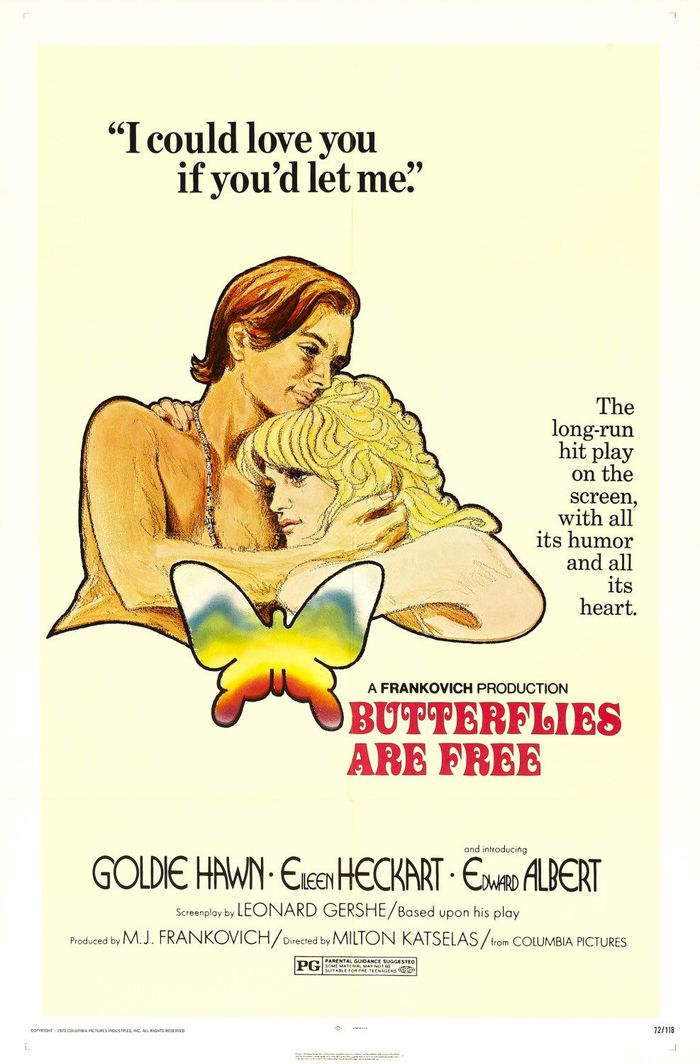 Butterflies Are Free movie posters 1