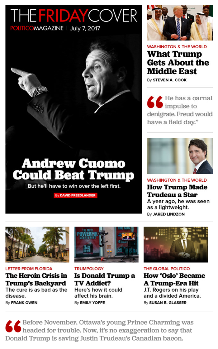 Inside the newsletter, Jubilat serves for headlines and, in a lighter weight, for pull quotes.