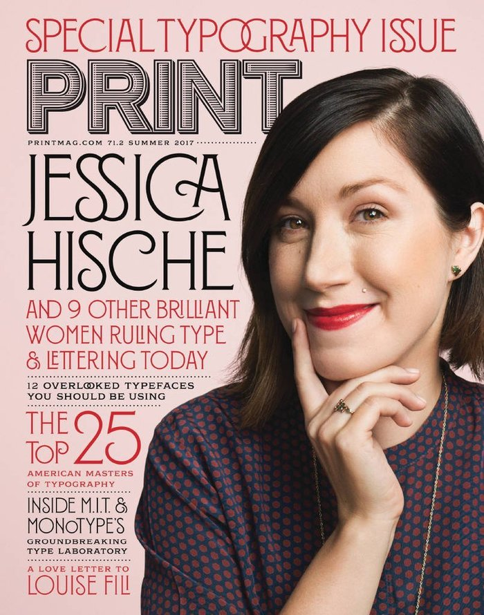 Print magazine, Special Typography Issue 2017 1