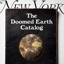 "<cite>New York</cite> magazine, July 10–23, 2017 ""The Doomed Earth Catalog"""