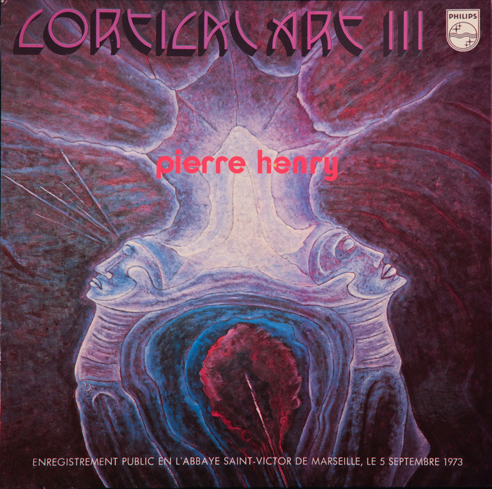 Pierre Henry – Cortical Art III album art 2