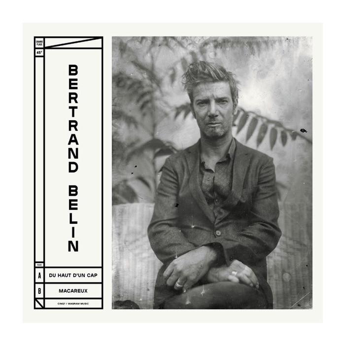 Bertrand Belin – Grande Plage record cover 1