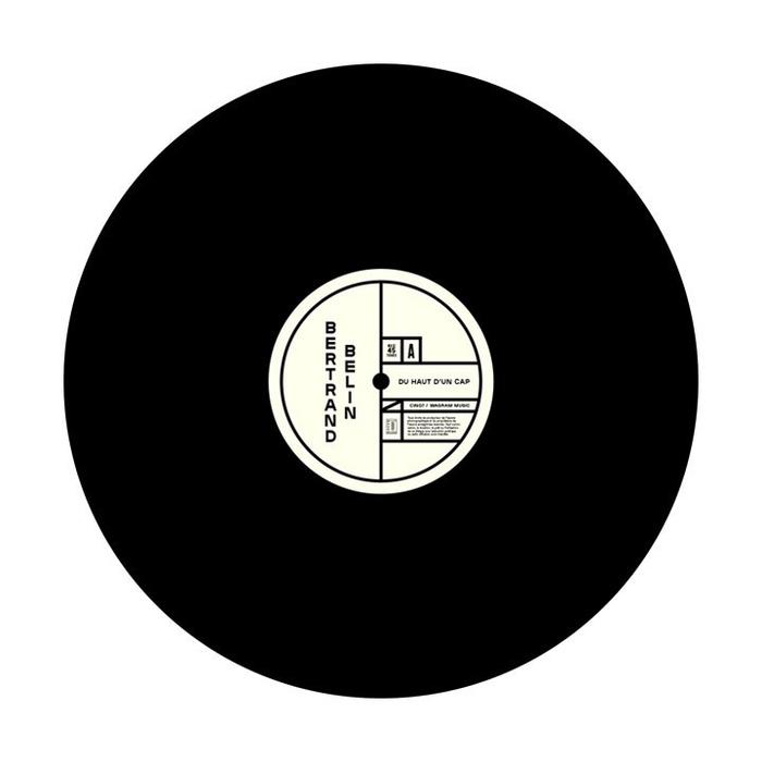 Bertrand Belin – Grande Plage record cover 3
