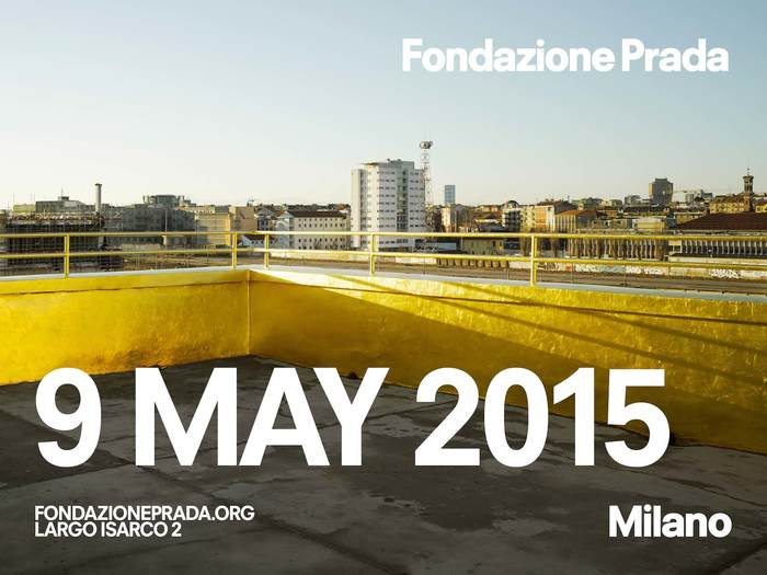 Fondazione Prada identity and website 2
