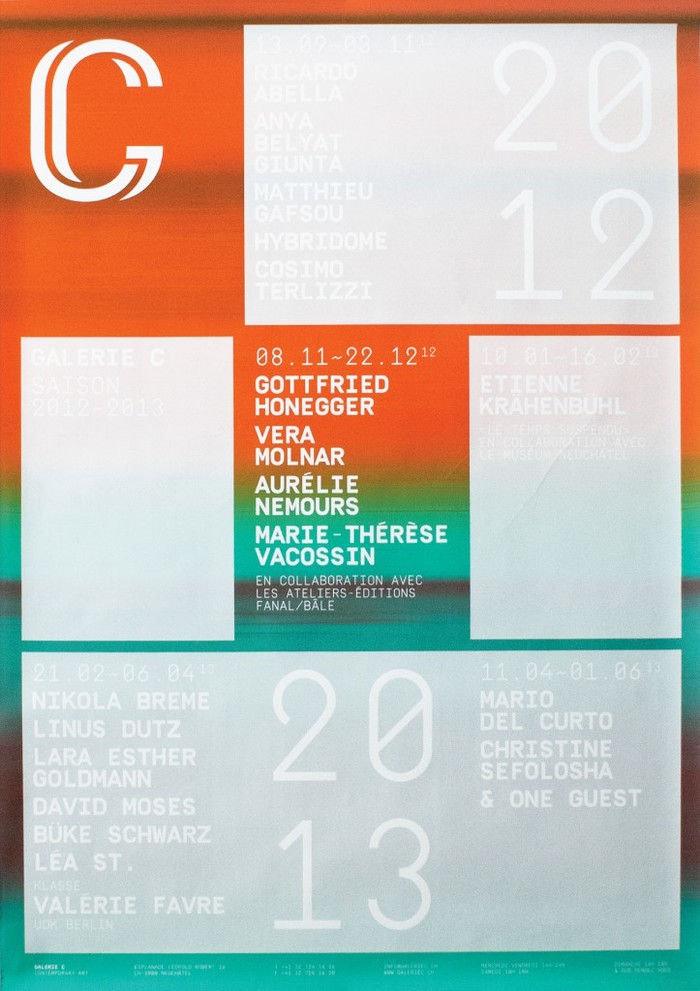 Galerie C 2012–2013 5