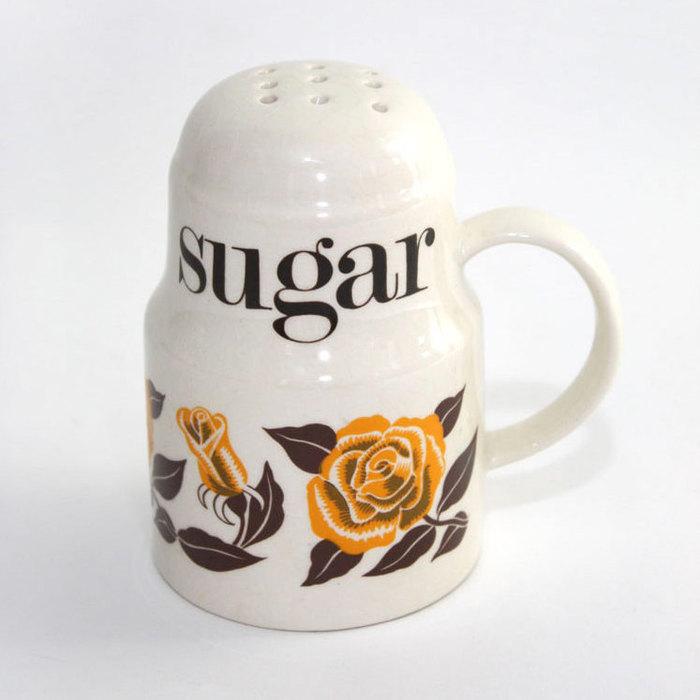 Crown Devon / Mary Quant ceramic containers 4