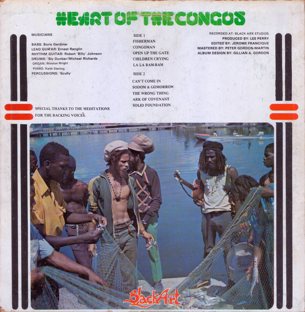 Heart Of The Congos by The Congos 2