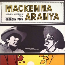 <cite>Mackenna Aranya</cite> (1969) Hungarian movie poster