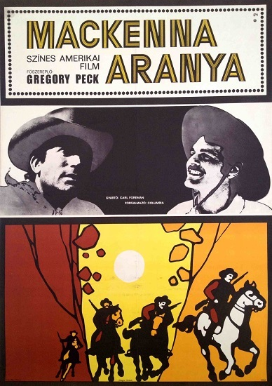 Mackenna Aranya (1969) Hungarian movie poster 1