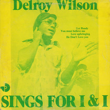 Delroy Wilson – <cite>Sings for I&amp;I</cite> album art