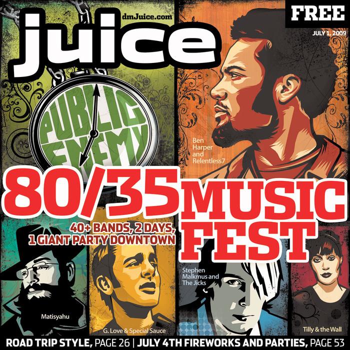 80/35 Music Fest cover
