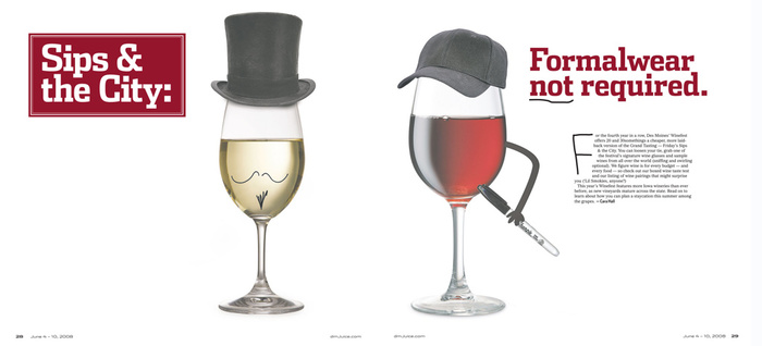 Wine Fest layout