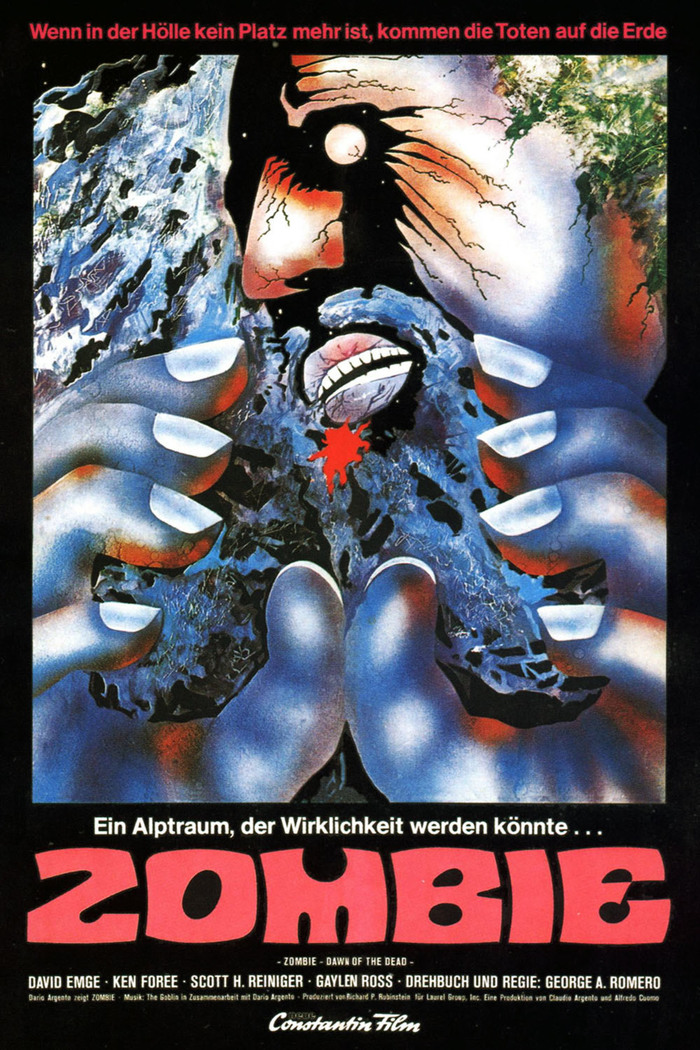 Poster by Constantin Film, Germany. Who took a bite out of the 'M'?