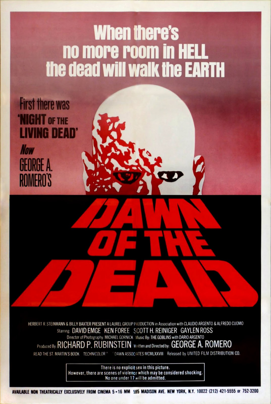 Dawn of the Dead (1978) movie posters - Fonts In Use