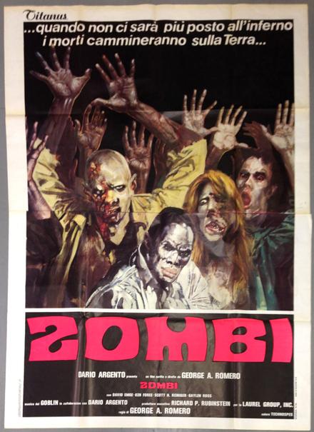 <cite>Dawn of the Dead</cite> (1978) movie posters