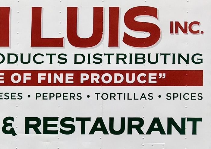 Don Luis Inc. delivery truck 2