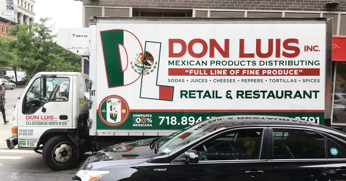 Don Luis Inc. delivery truck 1