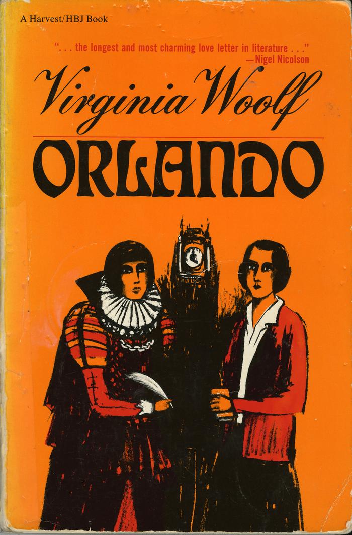 Orlando by Virginia Woolf (Harvest/HBJ Books)
