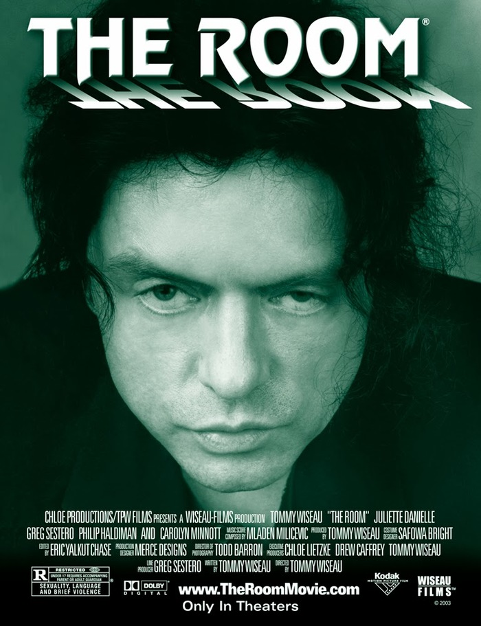 The Room movie poster and billboard 1