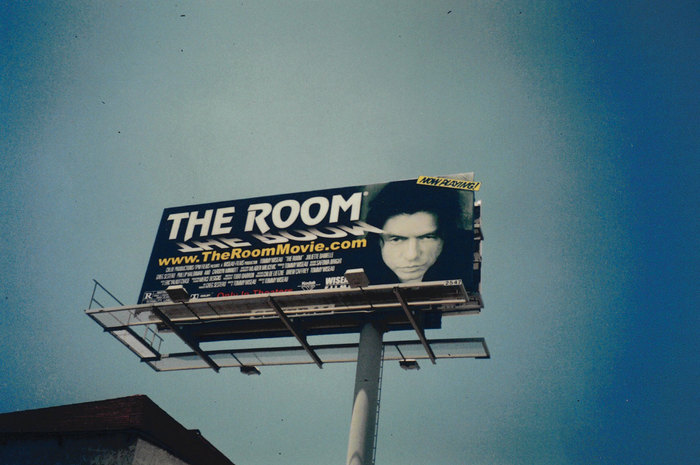 The Room movie poster and billboard 2