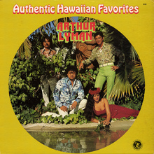 <cite>Authentic Hawaiian Favorites</cite> by Arthur Lyman