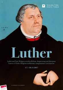 <cite>Luther und Tirol</cite> exhibition