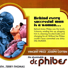 <cite>The Abominable Dr. Phibes</cite> (1971) movie posters