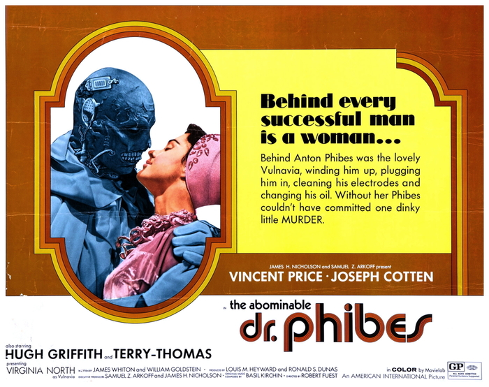 The Abominable Dr. Phibes (1971) movie posters 2
