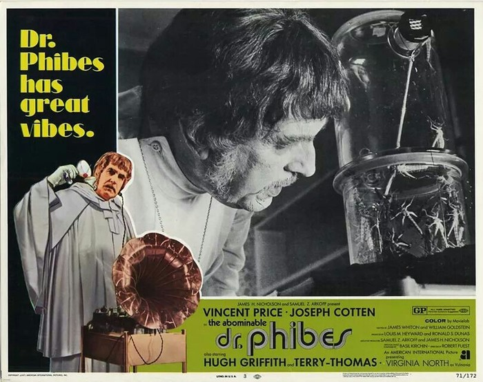 The Abominable Dr. Phibes (1971) movie posters 3
