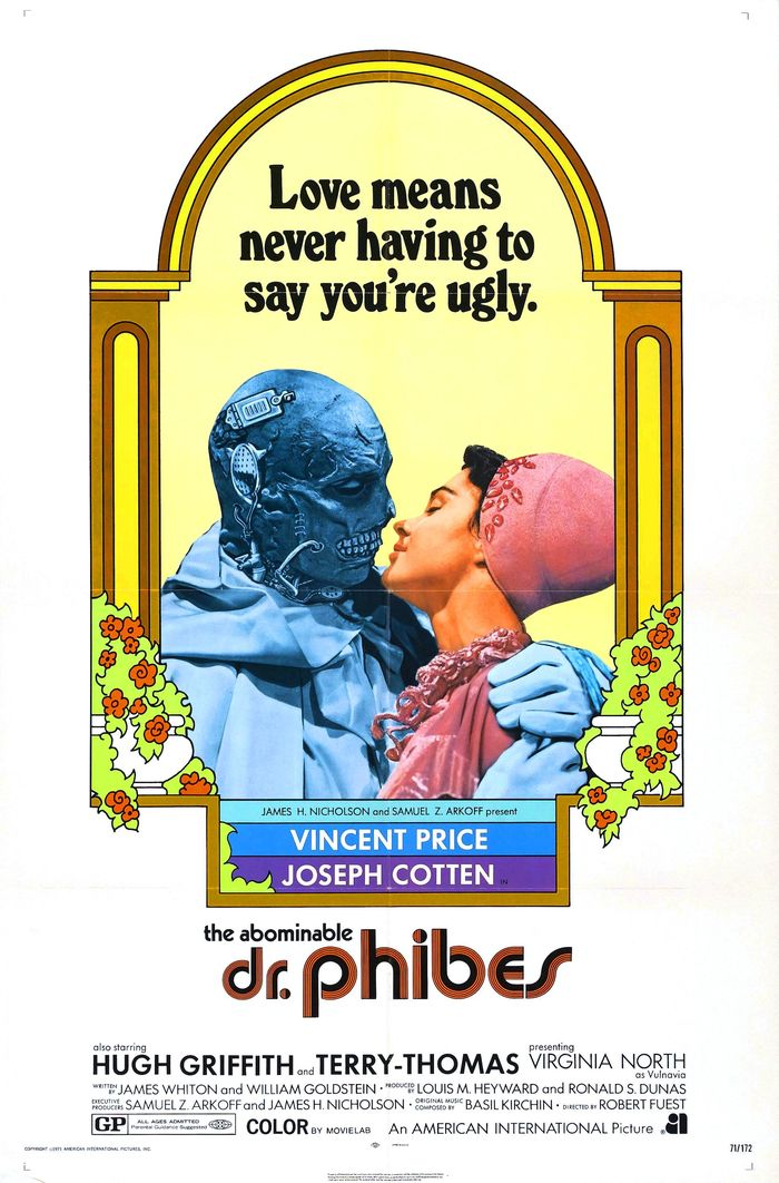 The Abominable Dr. Phibes (1971) movie posters 1