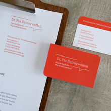 Dr. Pia Beiderwellen stationery