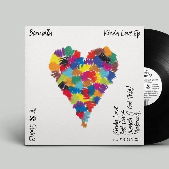 Borussia logo and Kinda Love (EP) 1