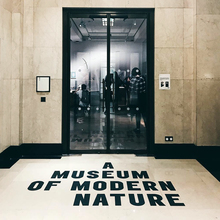 <cite>A Museum of Modern Nature</cite> exhibition