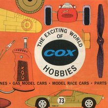 <cite>The Exciting World of Cox Hobbies</cite>
