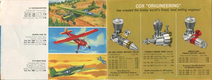L-4 Grasshopper, Super Cub 150, P-51 Mustang