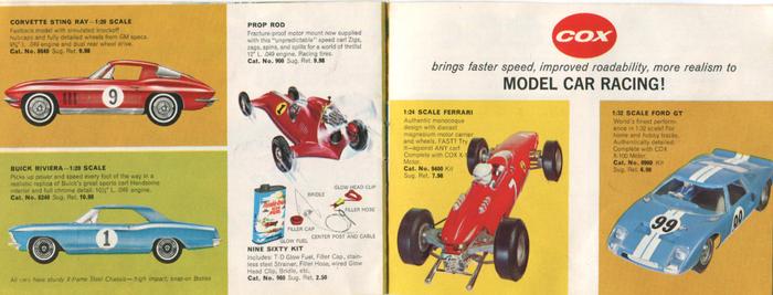Corvette Sting Ray, Buick Riviera, Ferrari, Ford GT …