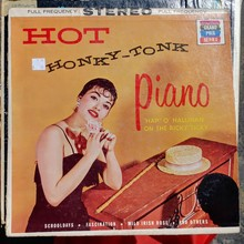 <cite>Hot Honky-Tonk Piano</cite> by Happy O'Hallihan