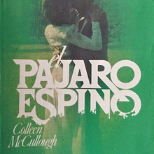 <cite>El Pajaro Espino </cite>book jacket (1977 edition)