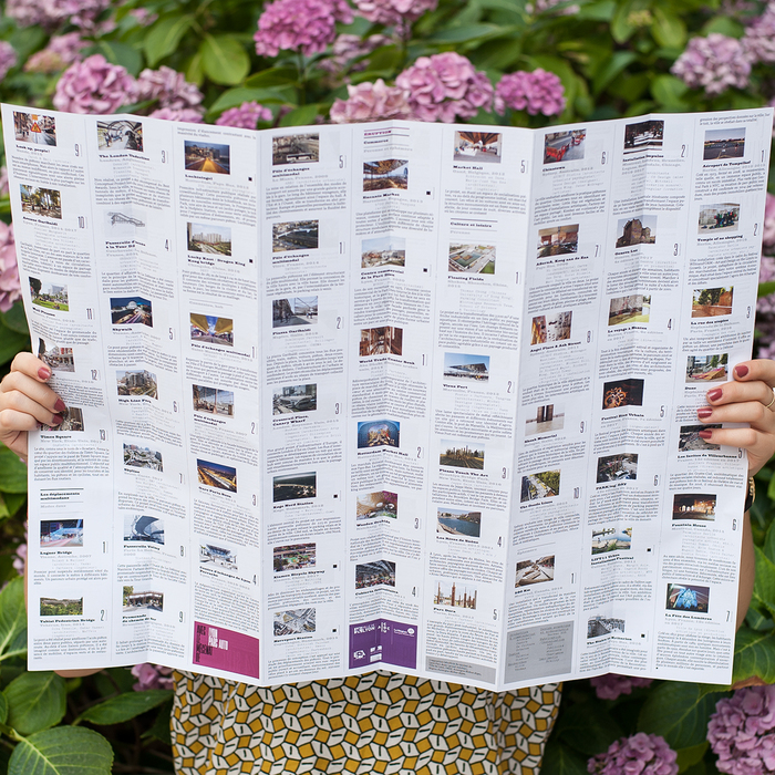 La ville en marchant (printed matter) 1