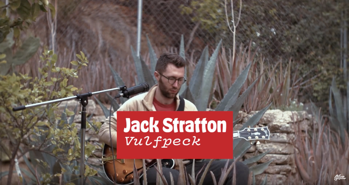Vulfpeck is set in Vulf Mono, of course – the typeface was originally designed for the band's identity.