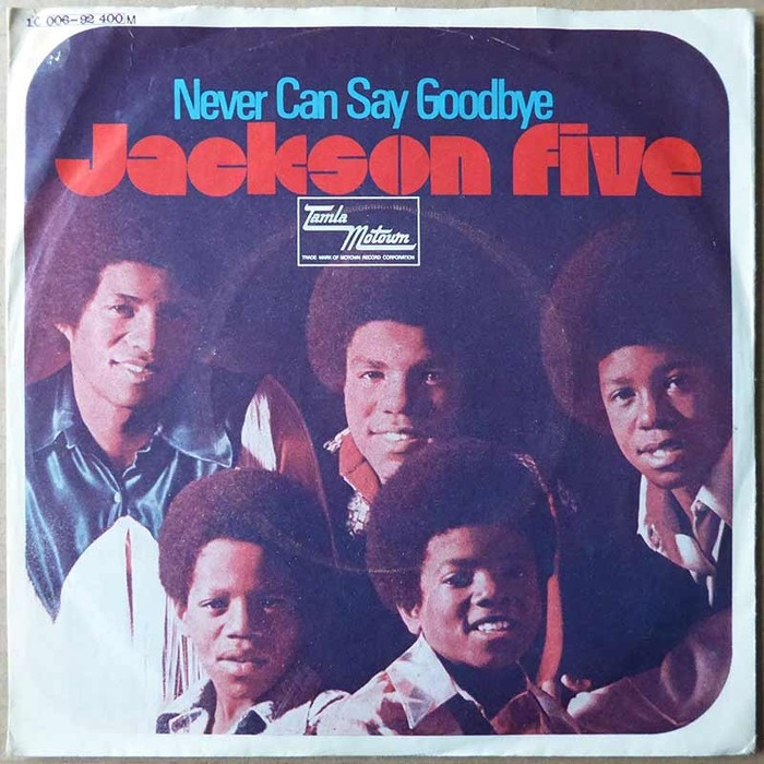"Jackson Five – ""Never Can Say Goodbye"" German single sleeve 1"