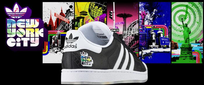 Adidas Adicolor NYC Series 1