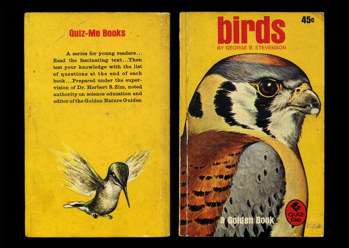 Birds by George B. Stevenson, book cover