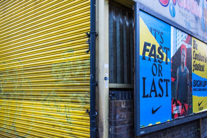 """London's Fastest"" poster campaign by Nike 5"