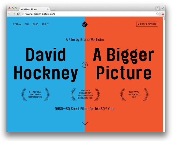 David Hockney: A Bigger Picture 1