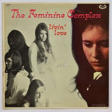 The Feminine Complex – <cite>Livin' Love </cite>album art