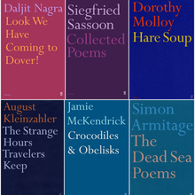Faber Poetry titles
