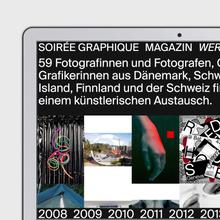 Soirée graphique website