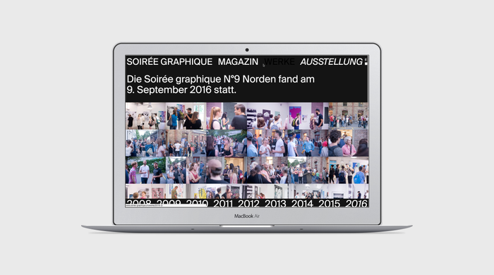 Soirée graphique website 6